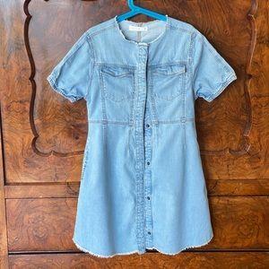 Zara kids - denim dress